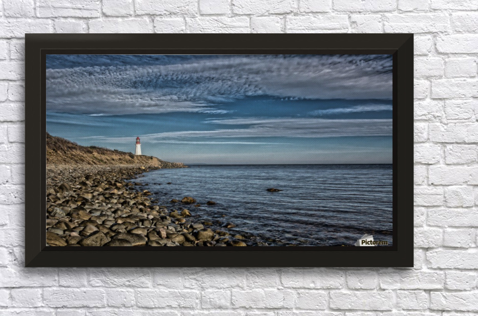 Low Point Lighthouse - Nova Scotia Stretched Frame Print