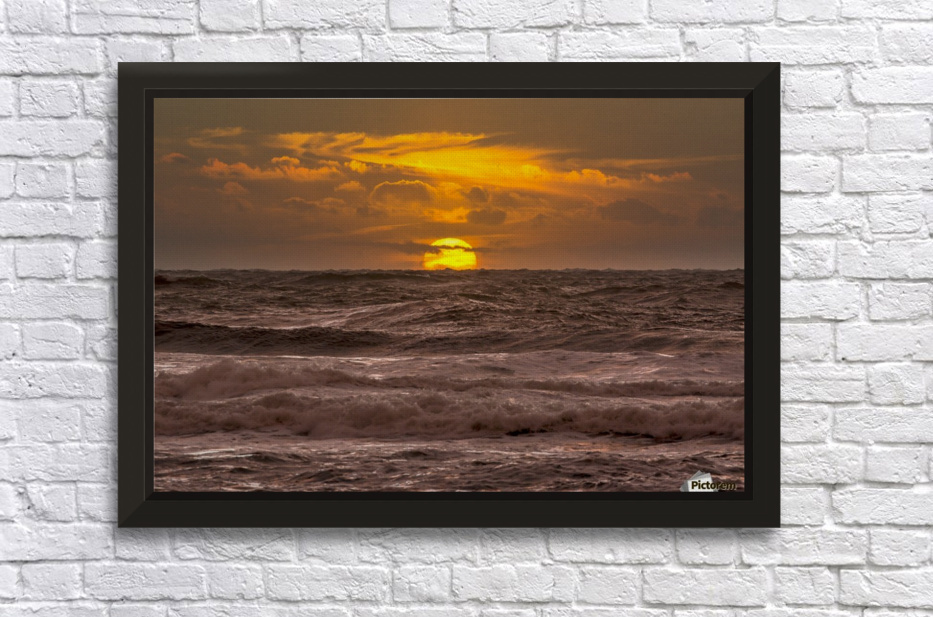 Fire & Water III Stretched Frame Print