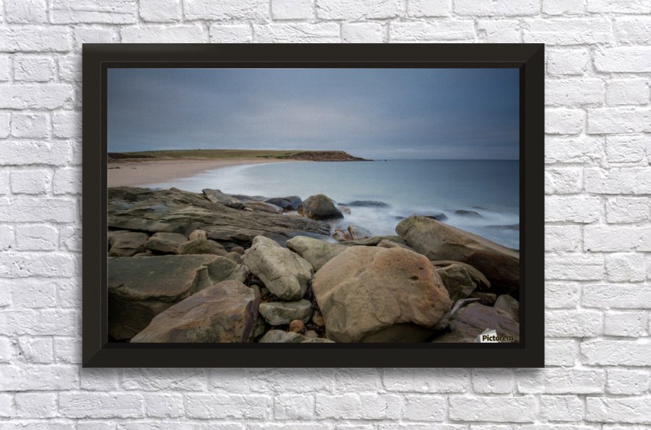 Sands of Whale Cove Stretched Frame Print