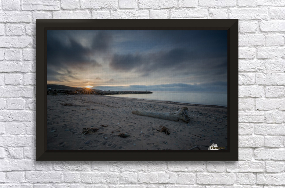 Goodnight Belle Cote Stretched Frame Print