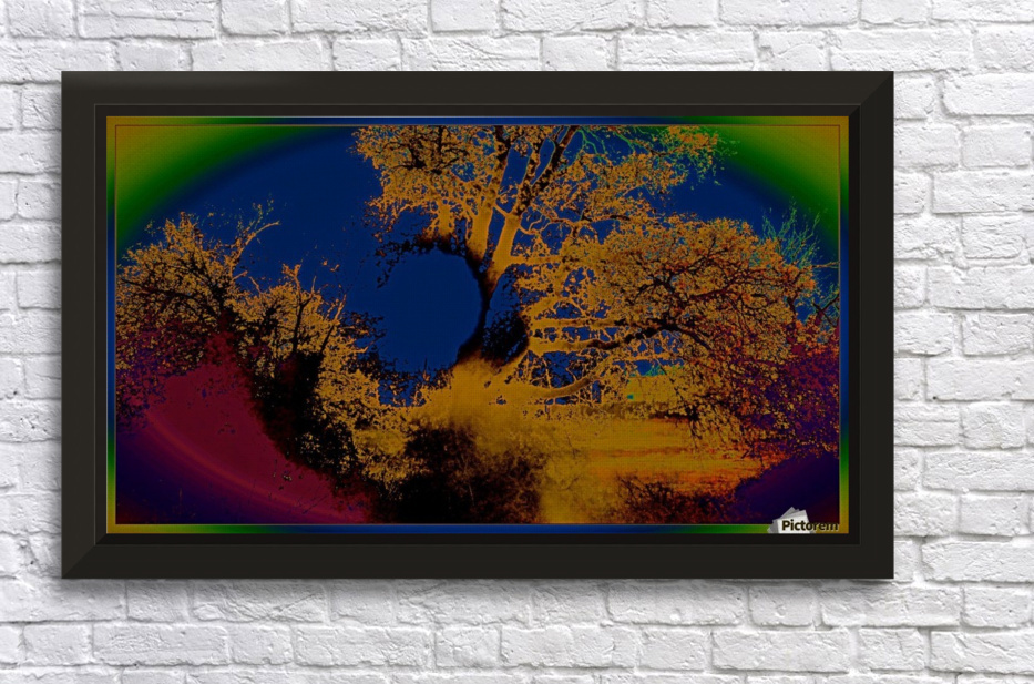 eastersunset Stretched Frame Print