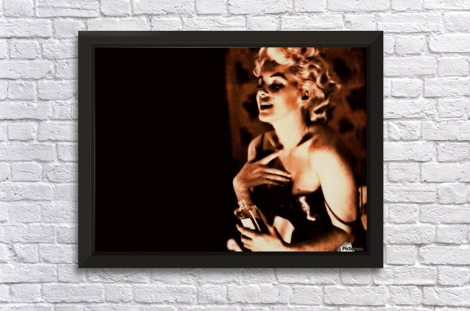 monroe2 Stretched Frame Print