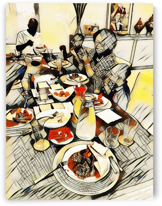 Bless this food, Oh Lord by Olufolahan  Akintola