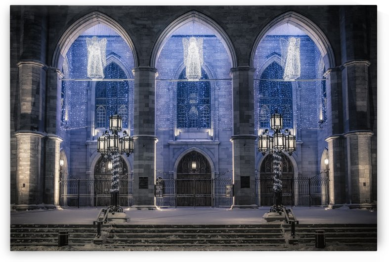 Notre-Dame Basilica, Mtl by Ron Harris