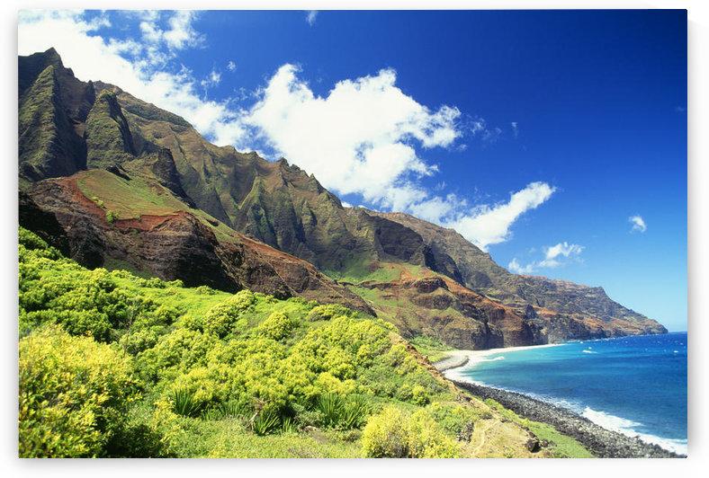 Hawaii, Kauai, Napali Coast, Kalalau Valley, Secluded Beach by PacificStock