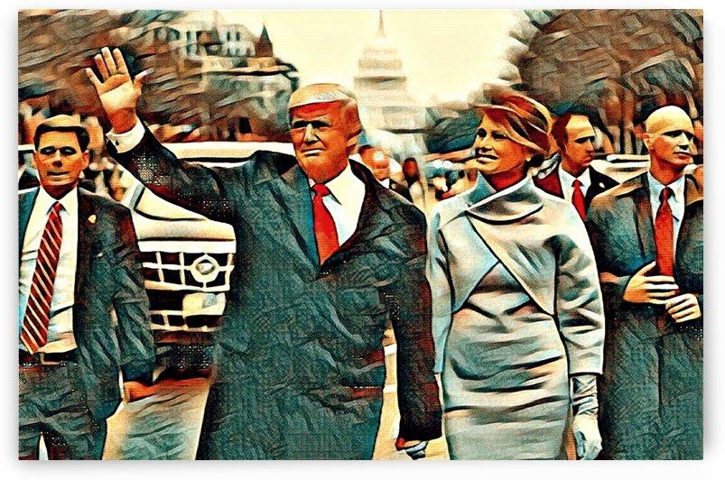 President Trump (v3) by Olufolahan  Akintola