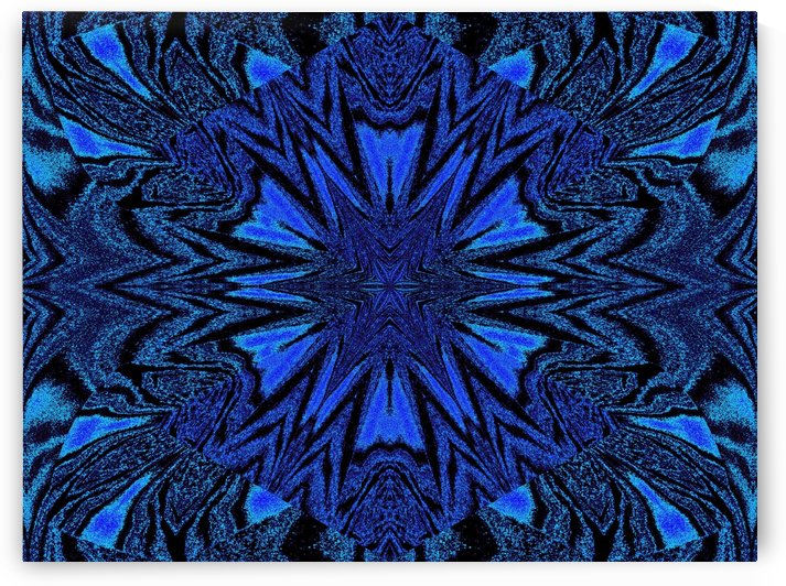 Electric Blue 2 by Sherrie Larch