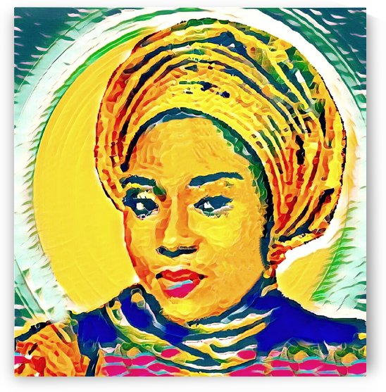 Colourful (Gold) by Olufolahan  Akintola