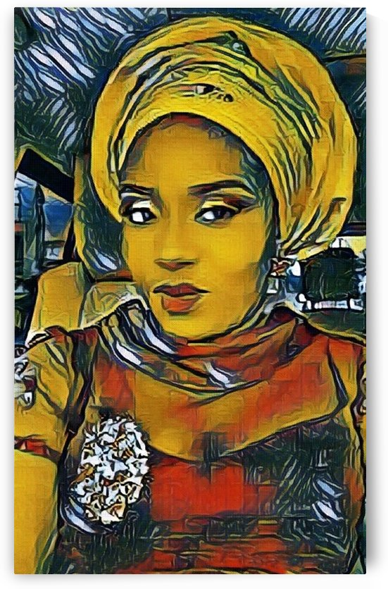 Lady (v3) by Olufolahan  Akintola