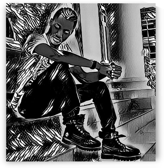 Young Star (Grey) by Olufolahan  Akintola