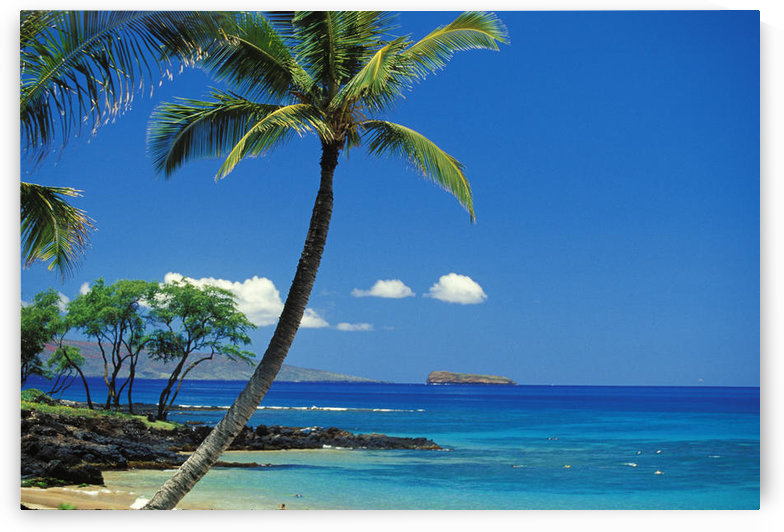 Hawaii, Maui, Island Of Kahoolawe And Molokini Viewed From Makena by PacificStock