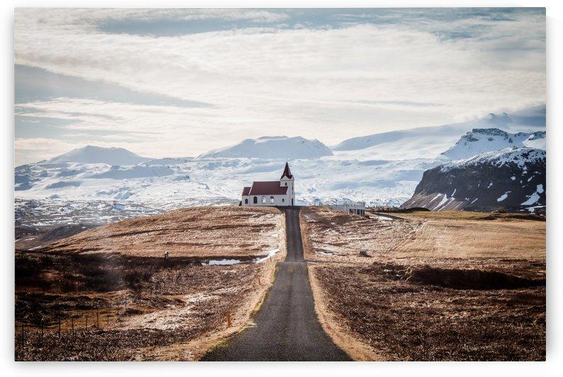 Church on the hill by Danielle Farrell
