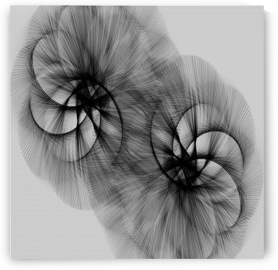 Swirl in Grey by KJHArt