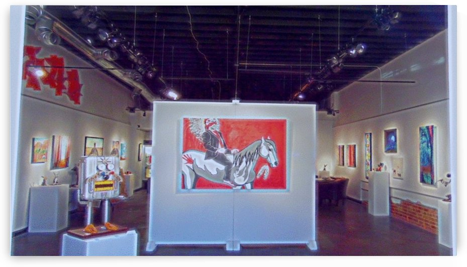 Gallery through the window by Chazzi R  Davis