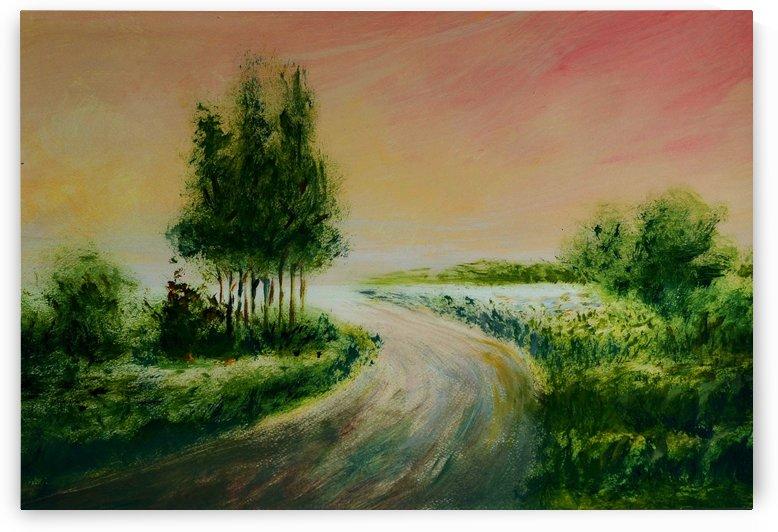 Evening by Pracha Yindee