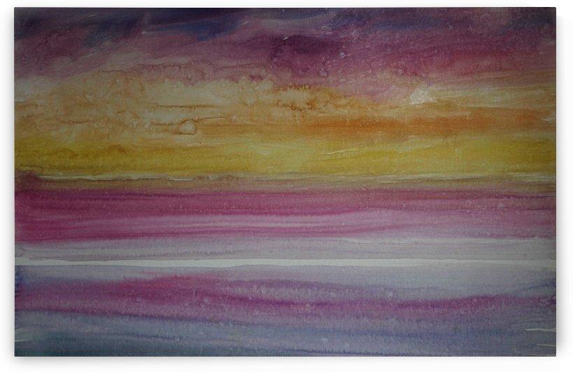 Sunset Sky by Pracha Yindee