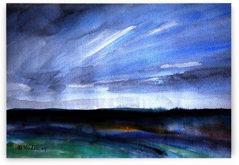 Night Fields by Pracha Yindee
