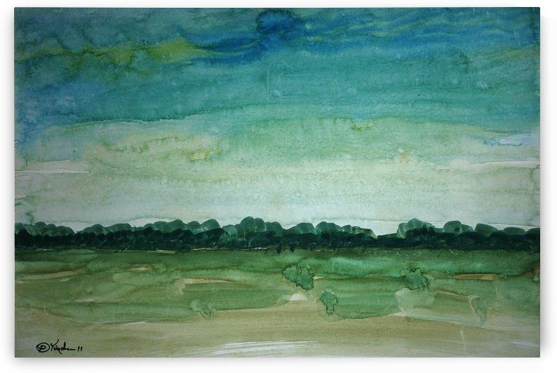 midday fields by Pracha Yindee