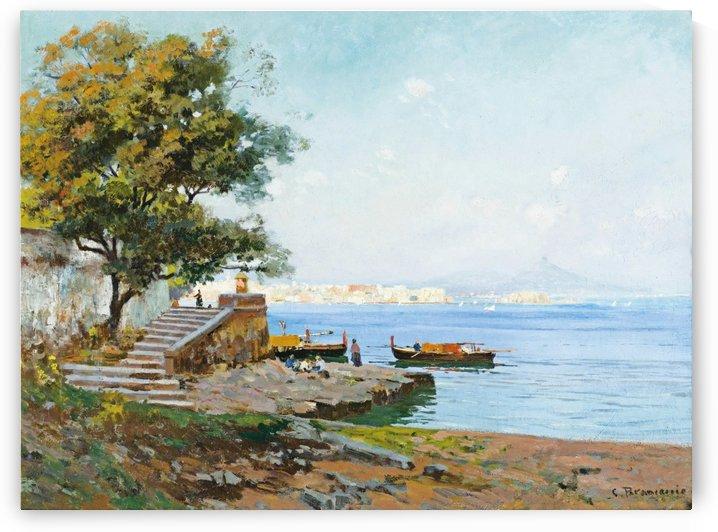 La baie de Naples by Carlo Brancaccio
