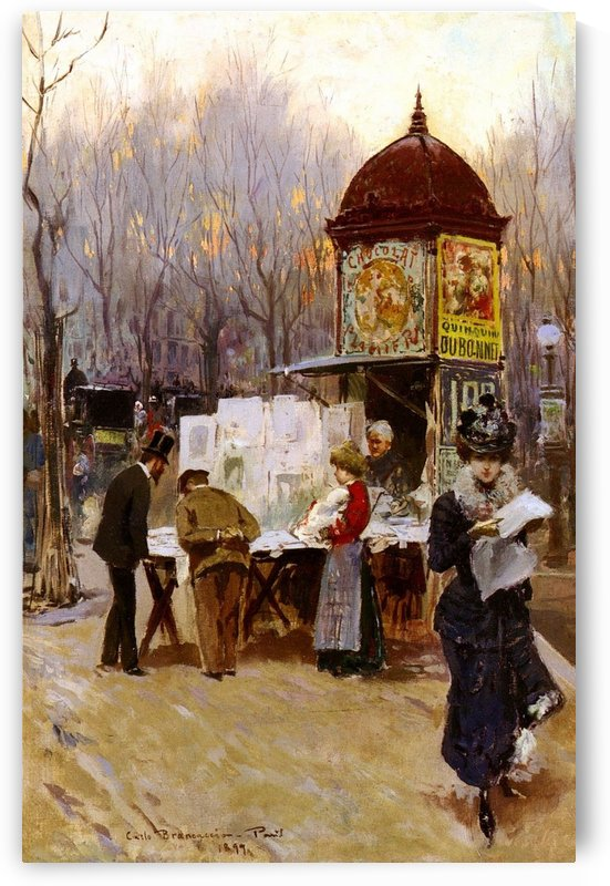 Paris, 1899 by Carlo Brancaccio