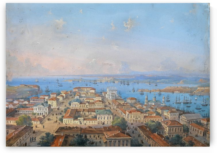 View of Sevastopol by Carlo Bossoli