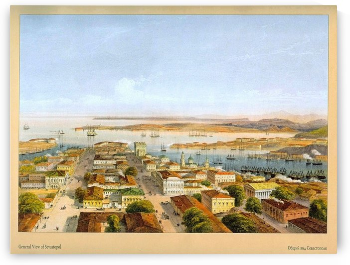 General view of Sevastopol by Carlo Bossoli