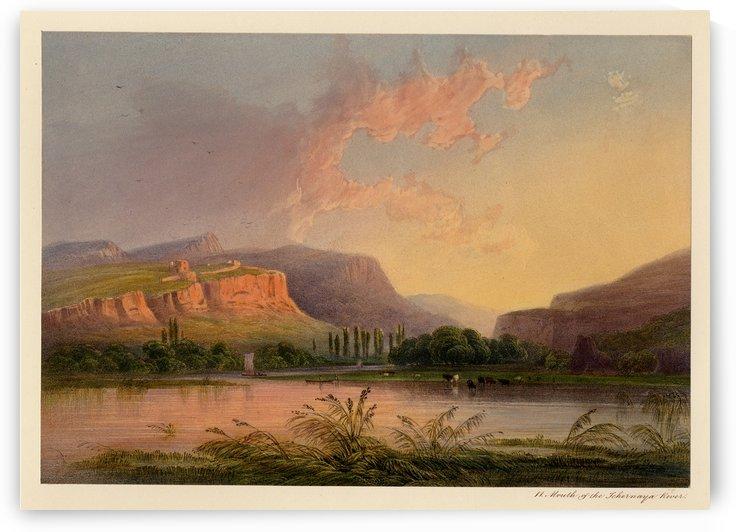 Mouth of the Chernaya River by Carlo Bossoli