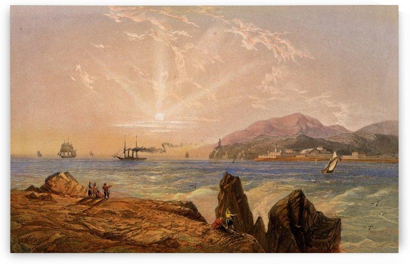 The Bosphorus by Carlo Bossoli