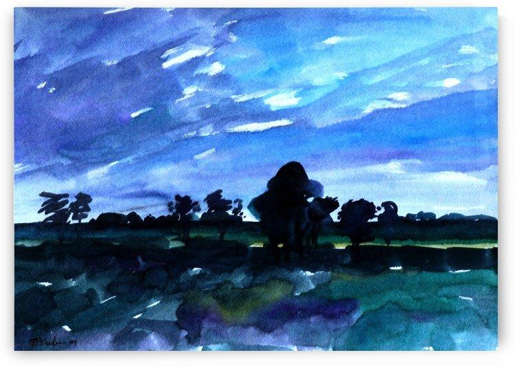 morning landscape 2 by Pracha Yindee