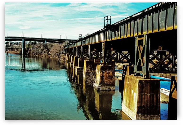 Bridge Over Troubled Waters by Susan Werby