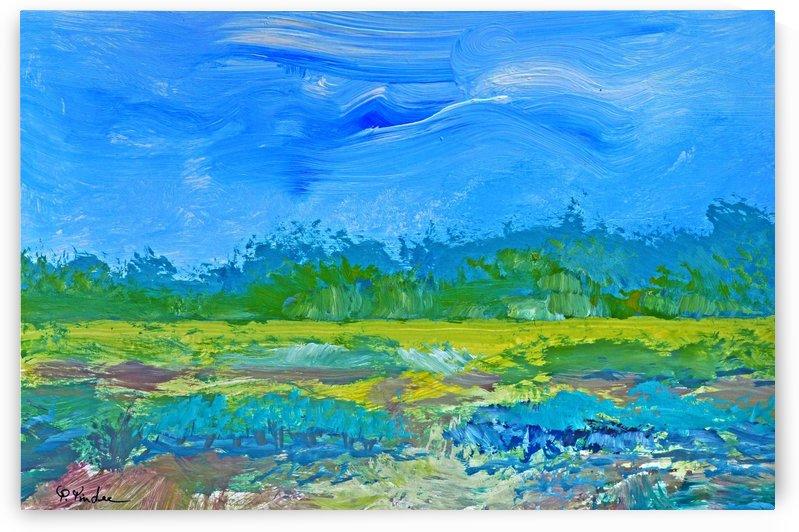 Landscape #10 by Pracha Yindee