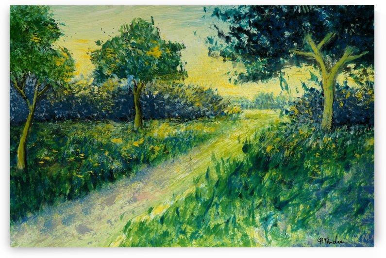 Landscape 9 by Pracha Yindee