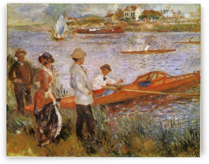 Rameurs_a_Chatou_1879 by Manet by Manet