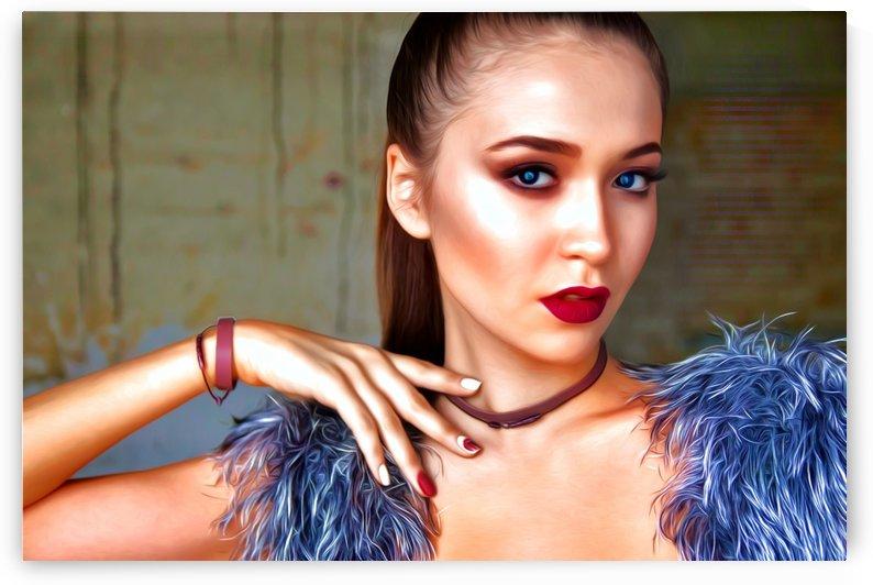 Beautiful Lady  2 by Chazzi R  Davis