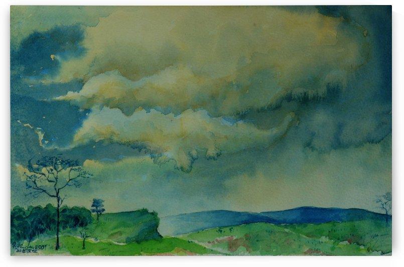 Landscape 13 by Pracha Yindee