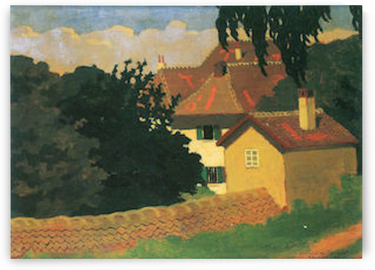 Remembering Romanel by Felix Vallotton by Felix Vallotton