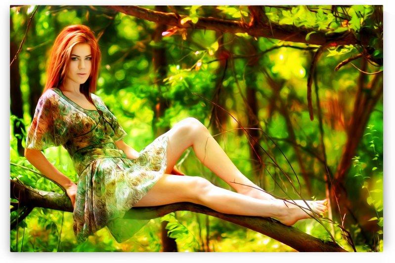 TREEgirl2 by Chazzi R  Davis