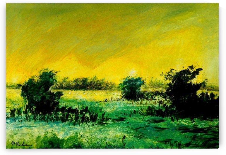 Landscape 14 by Pracha Yindee