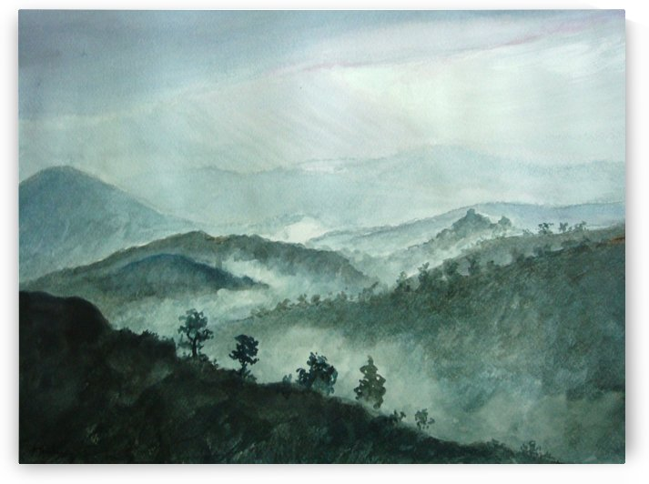 The mountain views by Pracha Yindee
