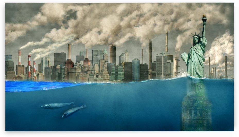 Global warming by Tamer Mallak