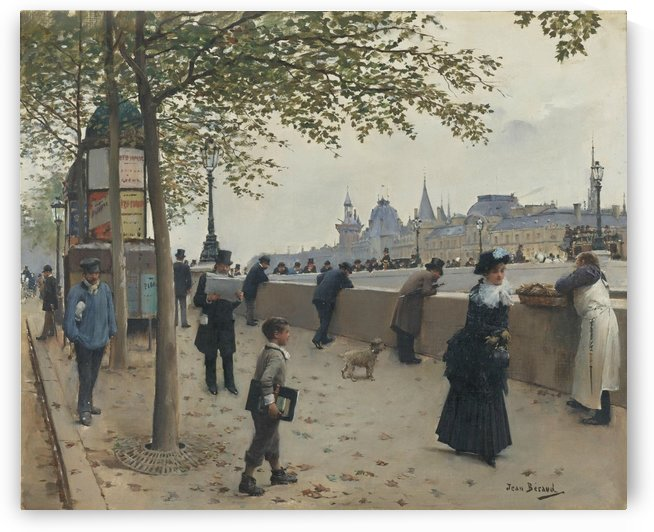 Le Pont Neuf by Jean Beraud