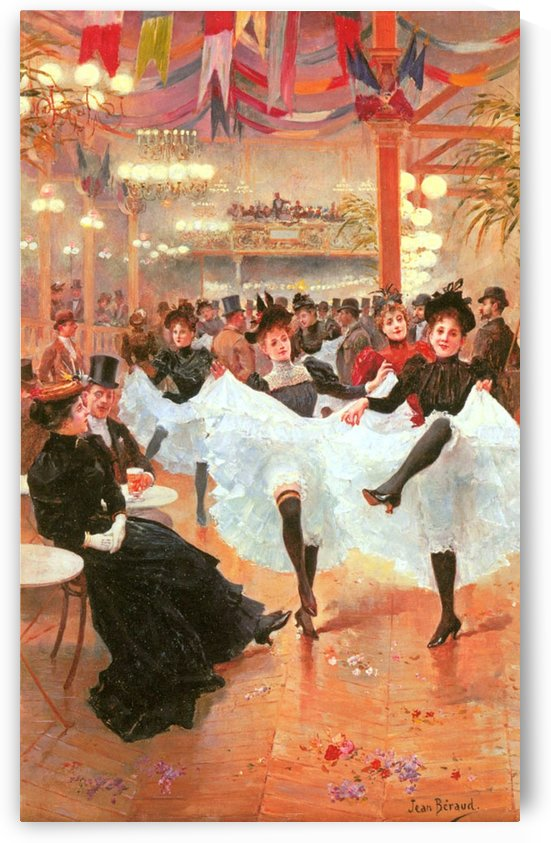 Cafe de Paris by Jean Beraud