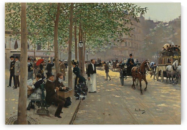 Avenue Parisienne by Jean Beraud