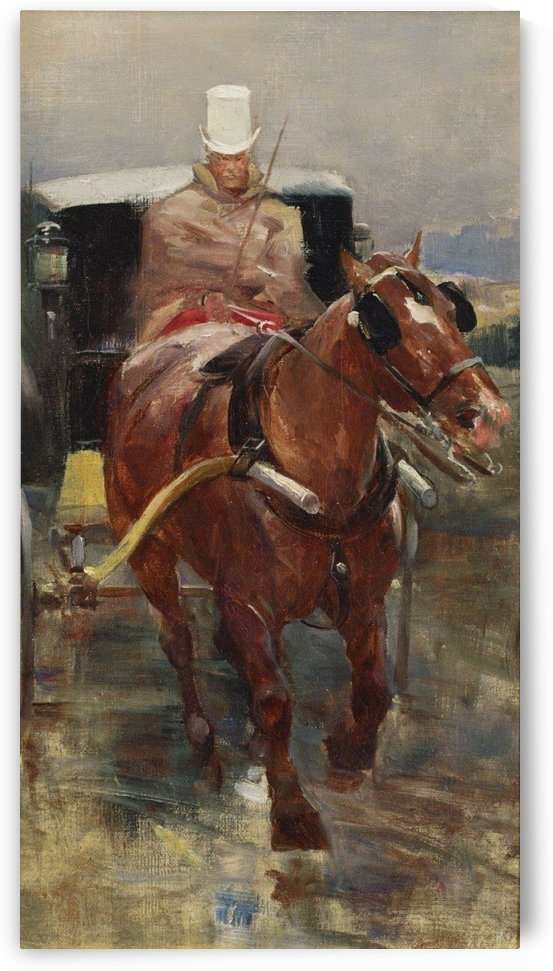 The horse driver by Jean Beraud