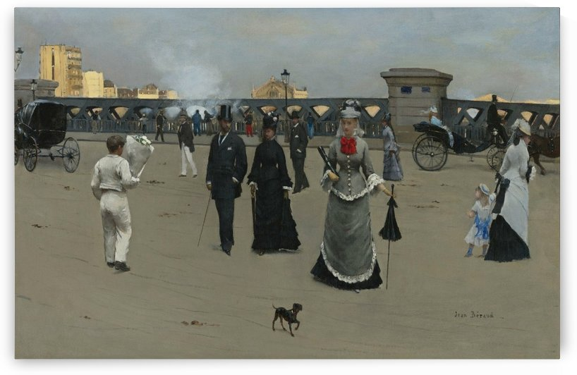 The Square of Europe by Jean Beraud