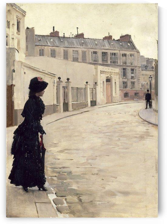 The waiting by Jean Beraud