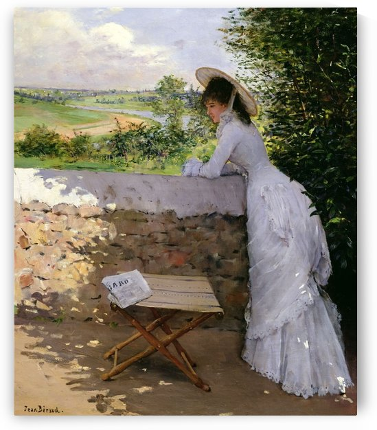 Un Figaro De Reve by Jean Beraud