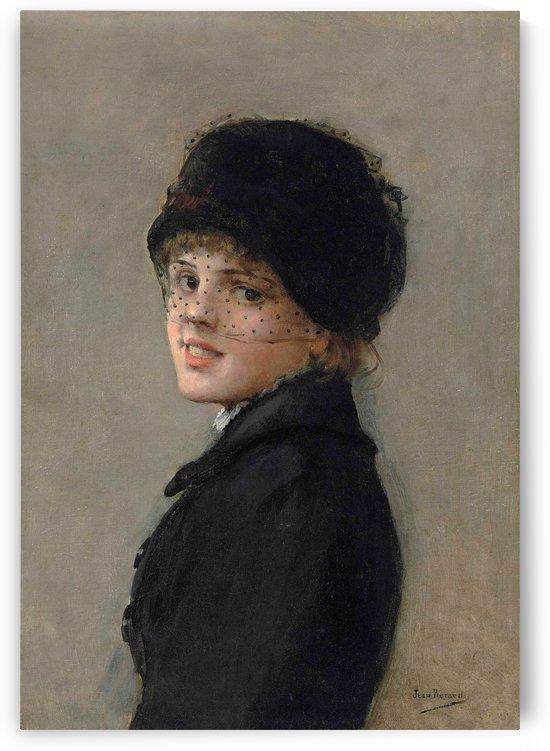 Portrait d'une jeune Parisienne by Jean Beraud