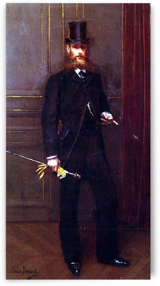 Portrait of a Dandy by Jean Beraud