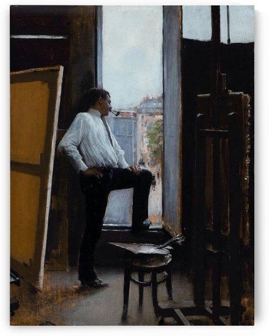 In the studio by Jean Beraud